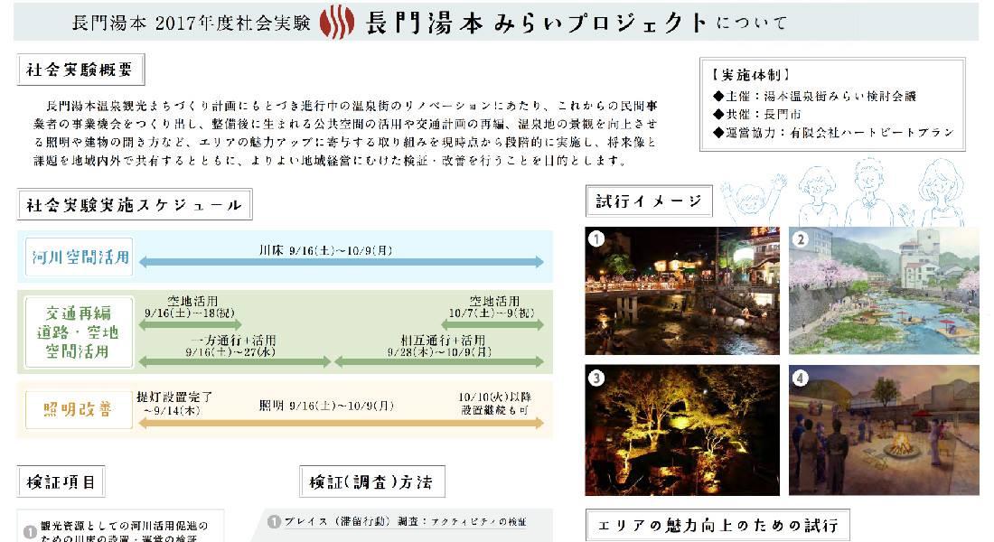 長門市と星野リゾートが『長門湯本みらいプロジェクト』についてのプレスリリースが配布開始
