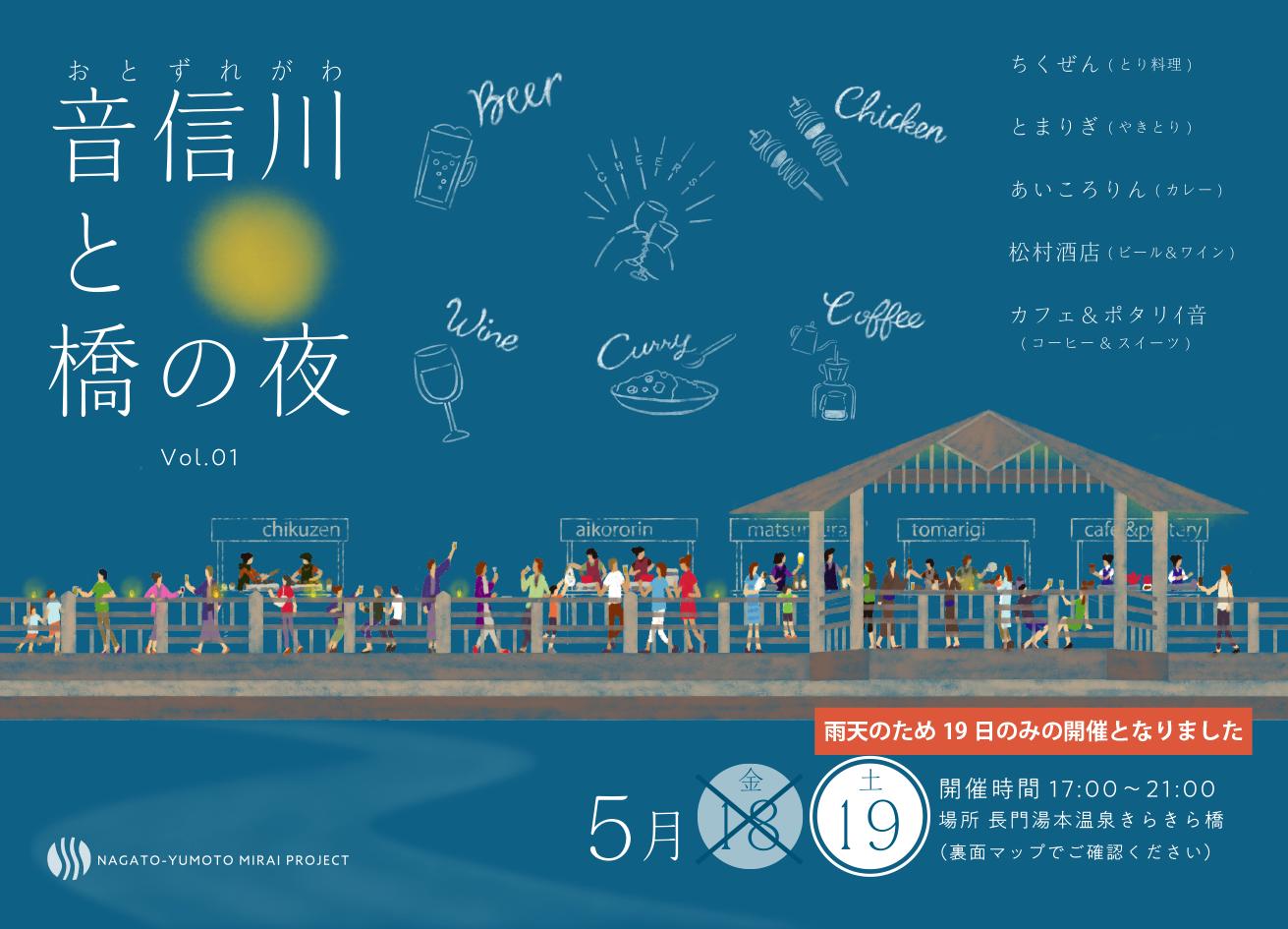 音信川と橋の夜 vol.01