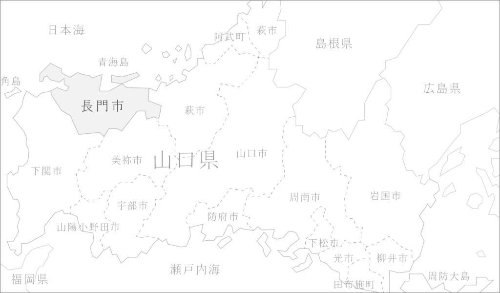 山口県マップ