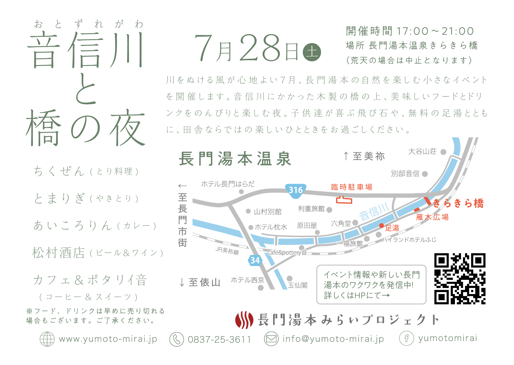 音信川と橋の夜vol.02
